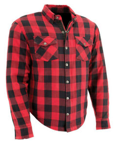 Milwaukee Kevlar Lined Protective Plaid Shirt/Jacket with elbow