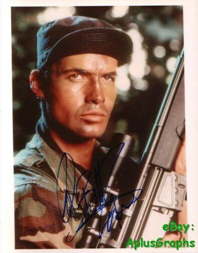 BILLY ZANE.. Sniper - SIGNED