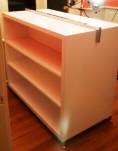 REDUCED - Double Sided Display Unit with Adjustable Shelfs