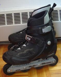 Sz 12 inline skates Solomon FSK street style; parts & wheels $50