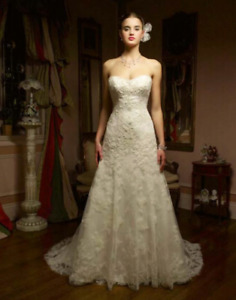 Casablanca wedding dress size 8-10