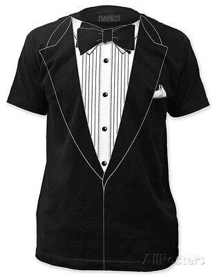 Tuxedo Costume Tee (slim fit) Apparel T-Shirt L - Black