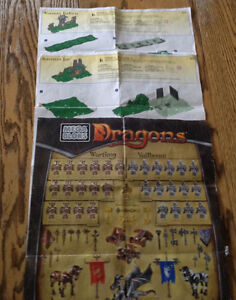 MAGA BLOKS DRAGON ~ WARRIORS FORTRESS (9890)