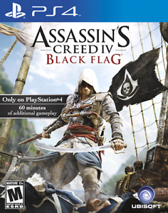 Assassin's Creed Black Flag and Destiny PS4