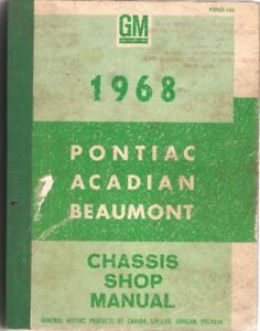 Collection of Old Vehicle Factory Shop Manuals