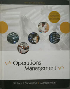 Operations Management, 3rd Canadian Edition