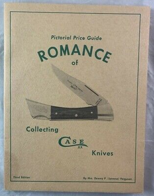 Pictorial Price Guide Romance of Collecting Case Knives Reference Book