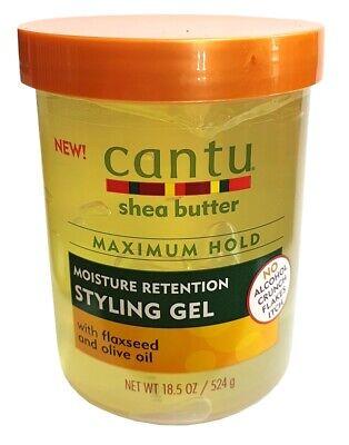 Maximum Hold Gel (Cantu Shea Butter MAXIMUM HOLD Moisture Retention Styling Gel 524g)