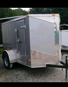 WANTED  enclosed trailer