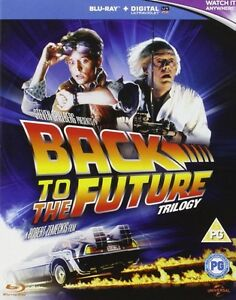 BLU-RAY! BACK TO THE FUTURE TRILOGY BOX SET