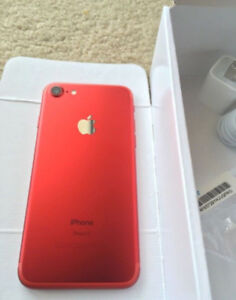 iPhone 7 128GB Product RED Brand New