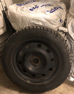 Winter Tires, Rims, and sensors 235/55R17 $850.00