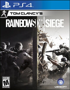 RAINBOW SIX SIEGE PS4 PLAYSTATION 4 NEUF