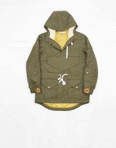 Creep Anorak Jacket Army Green, Medium