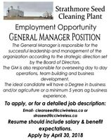 General Manager Position