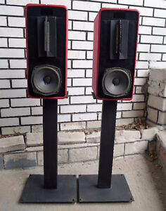 Clements Little D speakers -ribbons,woofers and stands - $595