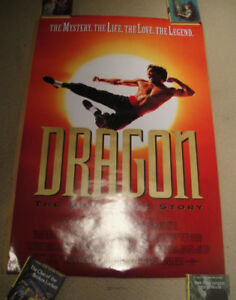 Dragon The Bruce Lee Story (1993) Original Movie Poster