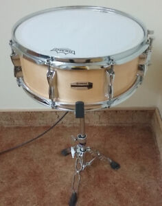 """14"""" Yamaha Stage Custom snare with new batter head."""