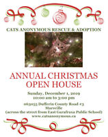 Cats Anonymous Rescue & Adoption Annual Christmas Open House