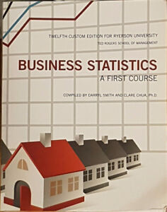Business Statistics A First | Buy New & Used Goods Near You