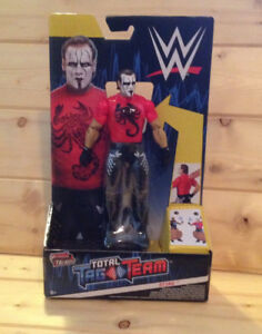 Brand New Tout Neuf WWE Tough Talkers Sting Action Figure