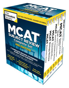 Princeton Review MCAT Complete Box Set - 2nd Ed ($277 Value)