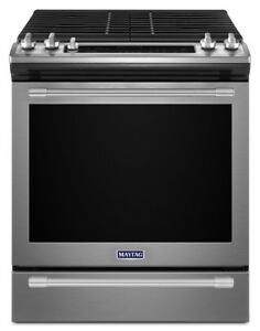 "Maytag MGS8800FZ 30"" Gas Range With Self Clean, Convection"