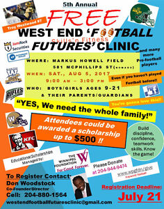 WEST END FOOTBALL FUTURES CLINIC