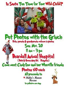 Photos with the Grinch Kingston Kingston Area image 1
