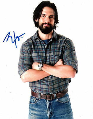 Milo Ventimiglia   This Is Us Jack Pearson   Signed