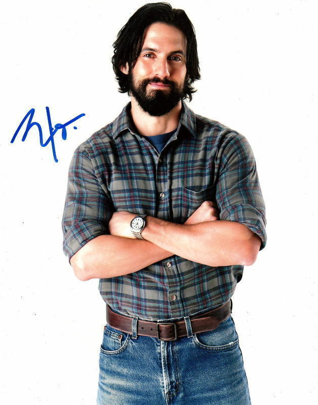 MILO VENTIMIGLIA.. This Is Us' Jack Pearson - SIGNED