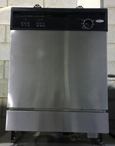 Whirlpool stainless steel dishwasher PRICE $299