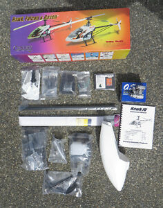 Radio control helicopter. Hawk 4 by Century. (or trade)