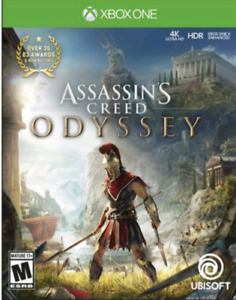 Jeux Assassin's  Creed Odyssey pour xbox one