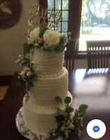 Affordable Custom Made Wedding and Birthday Cakes