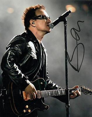 BONO  /  U2.. Rock and Roll Hall of Fame Musician -