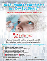 Do you Want to Participate in a Dry Eye Study?