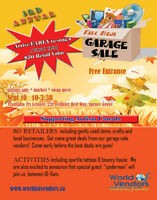 Fall Haul Garage Sale & Market Transalta Tri Leisure Sept 10th