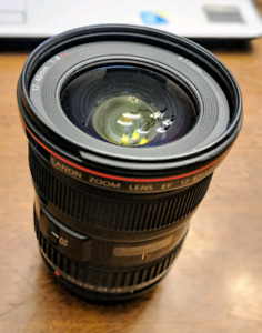 Canon EF 17-40mm f/4L US Lens with box