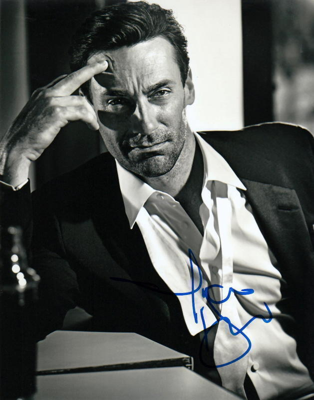 JON HAMM.. Sexy Stud (Mad Men) SIGNED
