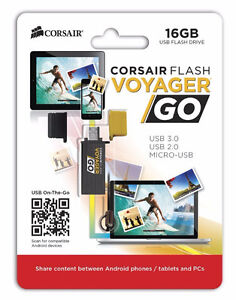 16GB micro USB3.0 Flash Drive for Android devices