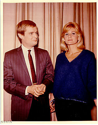 Man From Uncle David Mccallum And Jill Ireland Rare Candid Photo