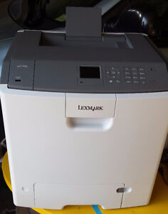 Lexmark c746n Color Laser Printer New Open Box $549.00