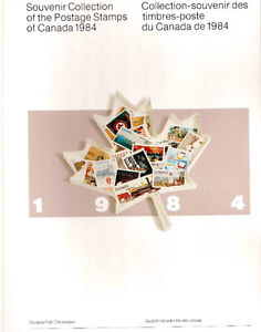 Collection Canada 1984 (timbres/stamps)