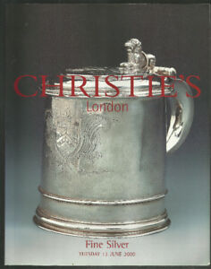Huge Catalog of 1750s - 1850s ANTIQUE SILVER. Full History & Pic