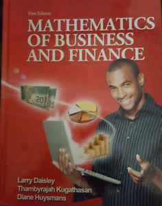 Mathematics of Business and Finance - First Edition