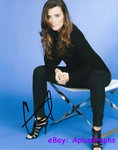 COTE De PABLO.. Breathtaking Beauty (NCIS) SIGNED