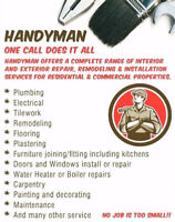 Skilled Handyman services available renovations free estimate
