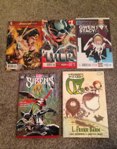 Assorted Comic Book Collection