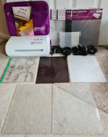 Gemini Die Cutting and Embossing Machine 5 months old - immaculate